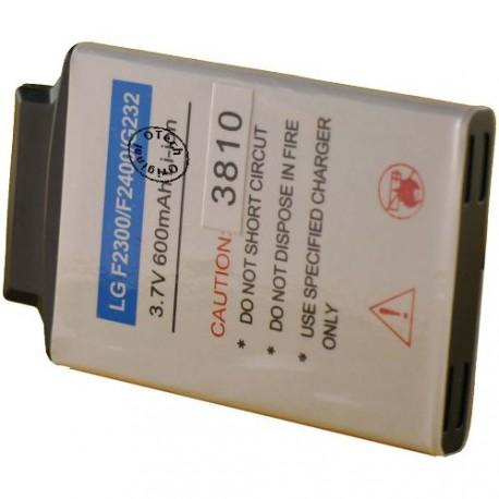 Batterie pour LG F2300 / YA0438SPA 3.7V Li-Ion 660mAh