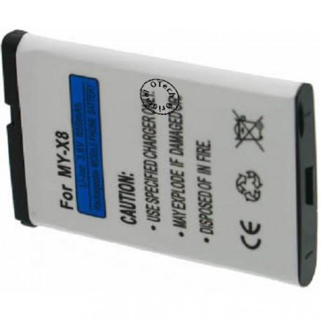 Batterie pour SAGEM MY-X8 3.6V Li-Ion 650mAh