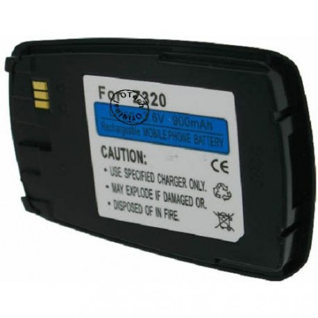 Batterie pour SAMSUNG Z320black 3.6V Li-Ion 900mAh