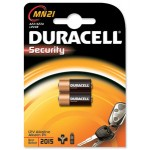 2 Piles 23A MN21 Alcaline 12V DURACELL