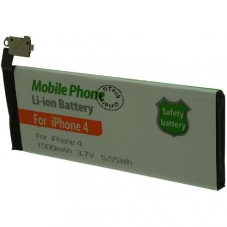 Batterie pour iPhone 4 3.8V Li-Ion 1500mAh sans outils