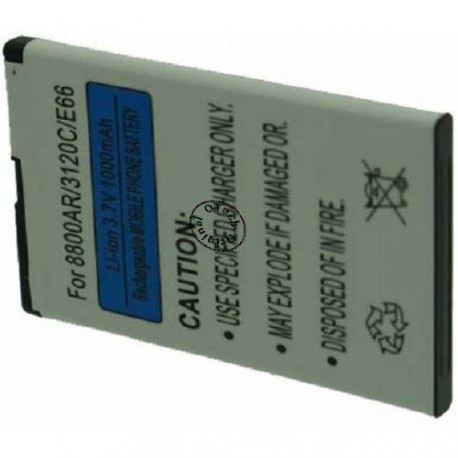 Batterie pour NOKIA BL-4U 3.7V Li-Ion 1200mAh