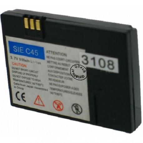 Batterie pour SIEMENS C45 / 2118 3.7V Li-Ion 900mAh