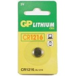 Pile bouton CR1216 Lithium