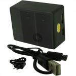 Chargeur DOUBLE pour batterie GOPRO 3 USB et Secteur