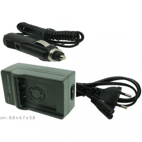 Chargeur pour batterie OLYMPUS LI-10B / LI-12B / DBL10