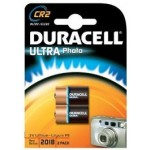 2 Piles photo CR2 3V DURACELL Ultra Photo