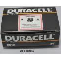 Carton de 100 piles boutons CR2016 3V Lithium DURACELL