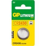 Pile bouton CR2430 3V Lithium GP