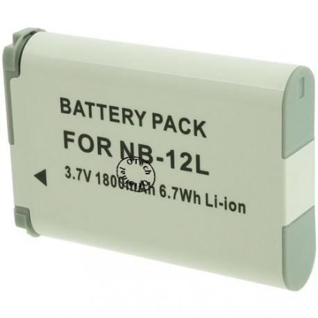 Batterie pour CANON NB-12L 3.7V 1800mAh