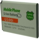 Batterie pour SONY U100i / BST43 3.7V Li-Ion 950mAh