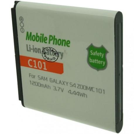 Batterie pour SAMSUNG C101 / GALAXY S4 ZOOM SMC101 3.7V Li-Ion 1200mAh