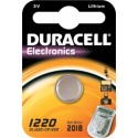 Pile bouton CR1220 Lithium 3V DURACELL