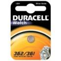 Pile SR58 362 361 Oxyde d\'argent equiv AG11 DURACELL