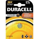 Pile SR60 364 Oxyde d\'argent equiv AG1 DURACELL