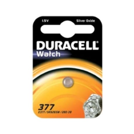 Pile SR66 SR626sw 377 Oxyde d\'argent DURACELL