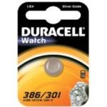 Pile SR43 386 301 Oxyde d\'argent DURACELL