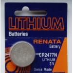 Pile bouton CR2477N Lithium