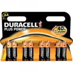 8 Piles AA LR6 Alcaline 1.5V DURACELL Plus Power