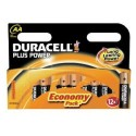 12 Piles AA LR6 Alcaline 1.5V DURACELL Plus Power