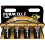 4 Piles LR14 C Alcaline 1.5V DURACELL PLUS