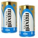 2 Piles LR20 D Alcaline 1.5V MAXELL