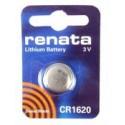 Pile CR1620 bouton Lithium RENATA