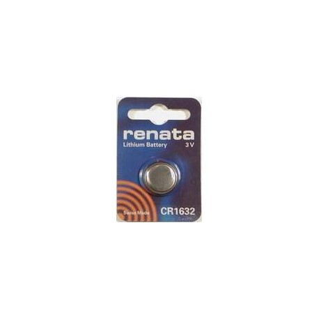 Pile bouton CR1632 Lithium RENATA