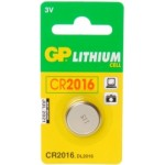 Pile bouton CR2016 Lithium 3V GP