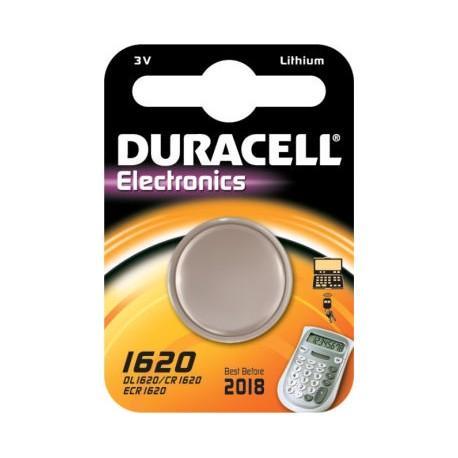 Pile bouton CR1620 Lithium 3V DURACELL