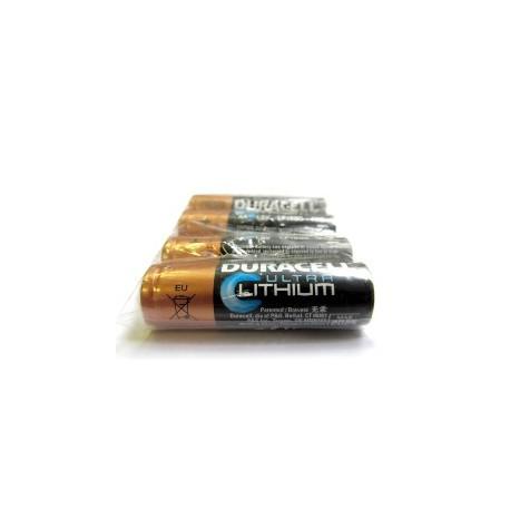 4 Piles AA FR6 Lithium 1.5V DURACELL