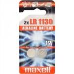 2 Piles bouton LR54 LR1130L 189 1,5V Alcaline MAXELL