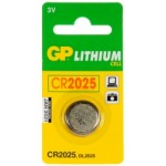 Pile bouton CR2025 Lithium