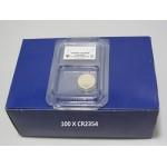 Carton de 100 piles boutons CR2354 3V Lithium PANASONIC