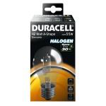 Ampoule Duracell Halogène E27 42W