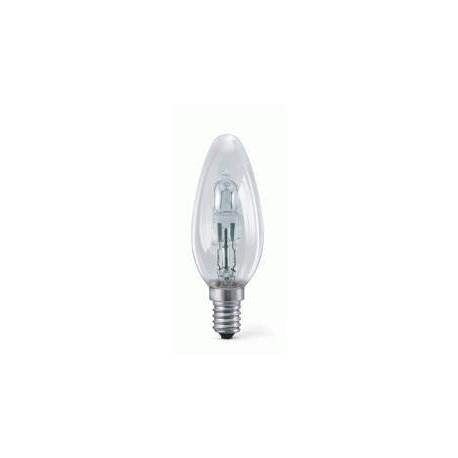 Ampoule E14 FLAMME halogene eco 28W (equi 40W)