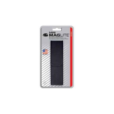 Etui de ceinture en nylon pour Mini MAGLITE 2 x AA