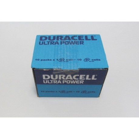 Carton de 10 piles 9V DURACELL Ultra Power
