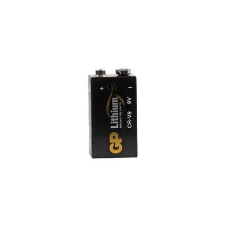 Pile 9V CRV9 Lithium spéciale détecteur de fumée