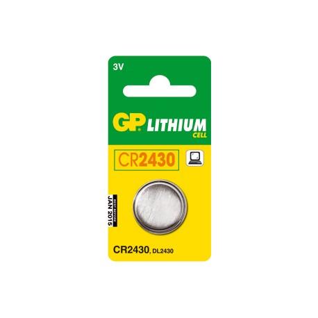 Pile bouton pour alarme 3V Lithium équivalence BATLI08