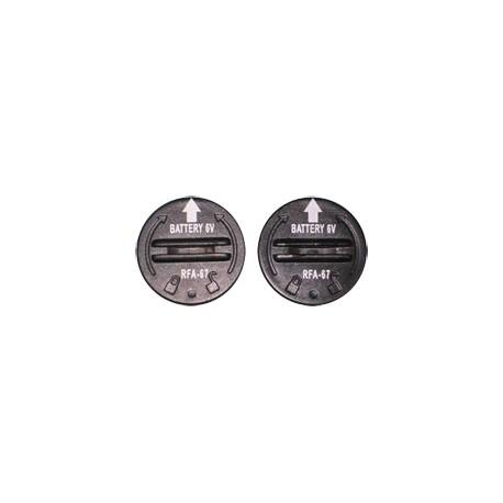 2 Piles RFA67 pour collier PETSAFE