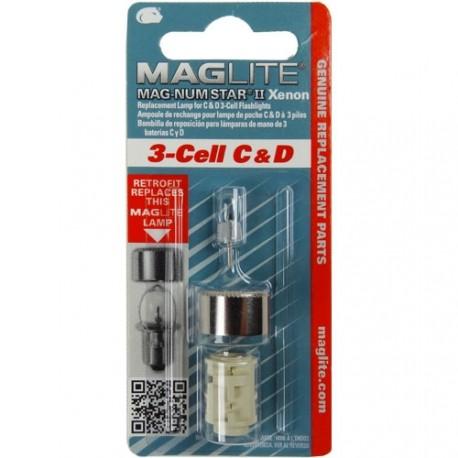 Ampoule Xenon de remplacement pour MAGLITE ML3/LCL3