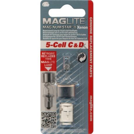 Ampoule Xenon de remplacement pour MAGLITE ML5/LCL5