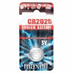Pile bouton CR2025 3V MAXELL