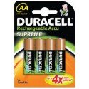 4 Accus AA 2500 DURACELL ULTRA