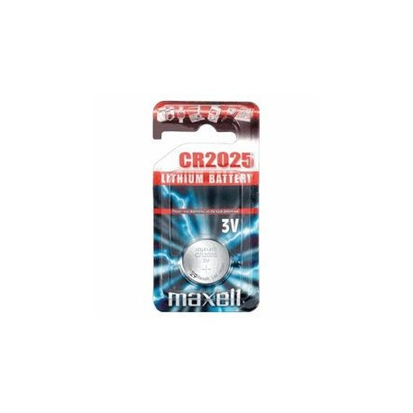 Pile bouton CR2025 Lithium 3V MAXELL