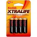 4 Piles AA LR6 Alcaline 1,5V KODAK