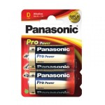 2 Piles D 1.5V Pro Power PANASONIC