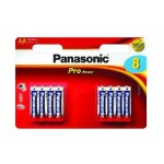 8 Piles AAA 1,5V Pro Power PANASONIC