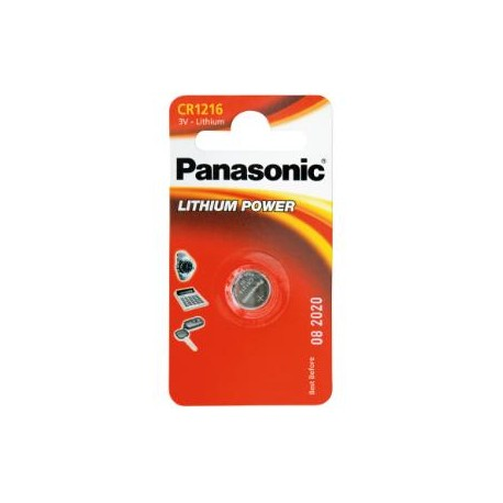 Pile CR1216 3V PANASONIC